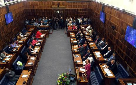 Western Cape Premier Helen Zille delivered her State of the Province Address (Sopa) on 19 February 2016. Picture: Xolani Koyana/EWN.