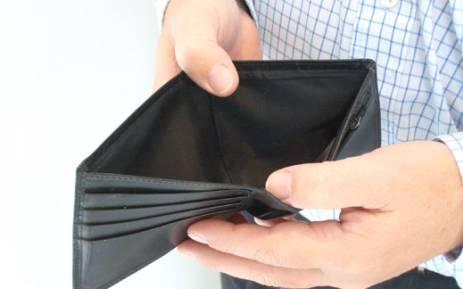 Empty wallet. Picture: sxc.hu
