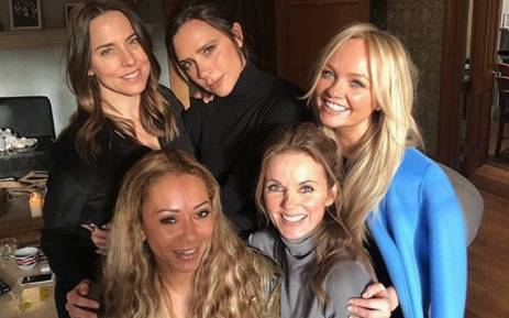 Victoria Beckham shared this picture on Instagram with her fellow Spice Girl members. Picture: Instagram