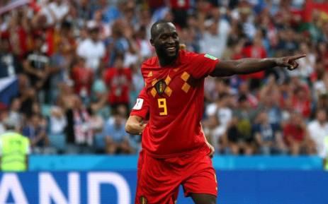 Belgium forward Romelu Lukaku. Picture: @FIFAWorldCup/Twitter.