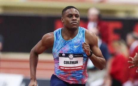 Coleman breaks world record in 60 meters at Albuquerque Convention Center