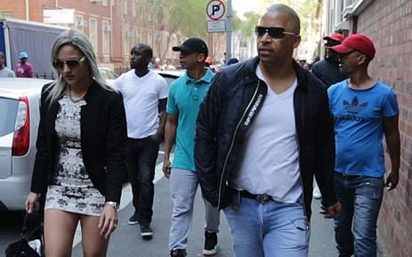 FILE. Ralph Stanfield, who's out on R100,000 bail, appeared in the Cape Town Magistrates Court with five other co-accused on 4 September, 2014. Picture: Thomas Holder/EWN