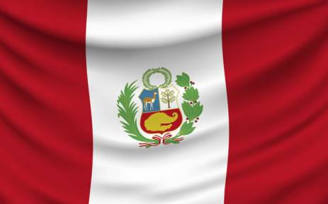 The Peruvian flag. Picture: Supplied