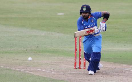 India's Virat Kohli plays a shot. Picture: AFP