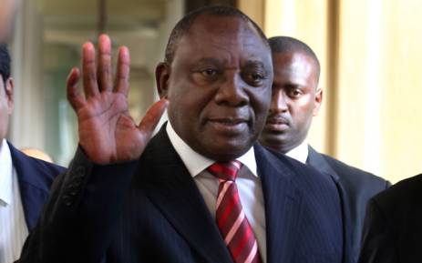 South African vice president Cyril Ramaphosa. Picture: EPA.