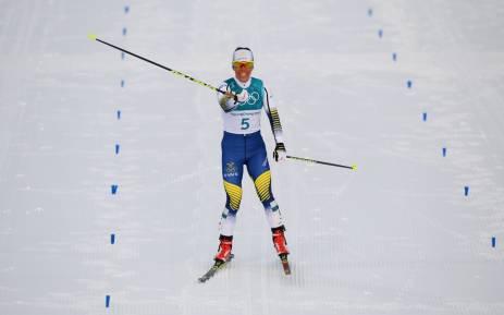 Sweden's Charlotte Kalla. Picture: @pyeongchang2018