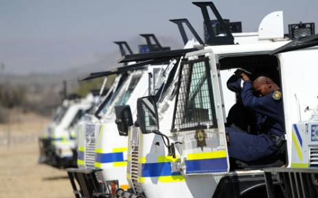 Lawyers say police's negotiating skills - from inside Nyalas – failed. Picture: SAPA