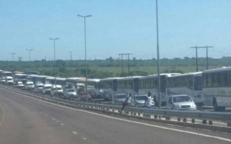 Easter traffic. Picture: Twitter EWNTraffic.
