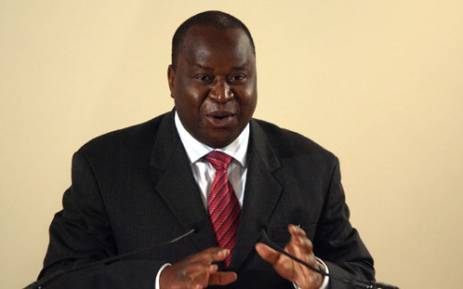 Former Reserve Bank Governor Tito Mboweni. Picture: Sapa.