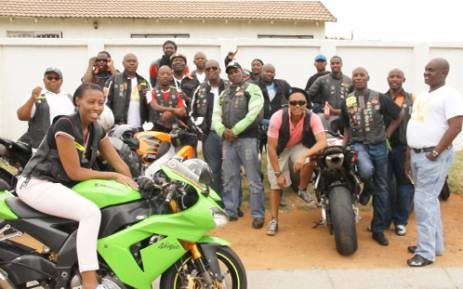 The Eagles Bikers Club from Soweto