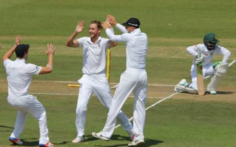 FILE. England beat South Africa by seven wickets to win the third test in Johannesburg and with it, the four match test series as well. Picture: @OfficialCSA.