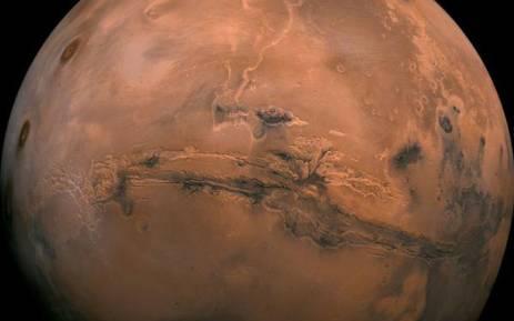 Mars. Picture: @NASA/Twitter