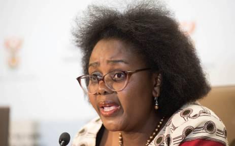 Communications Minister Mmamoloko Kubayi-Ngubane. Picture: GCIS.