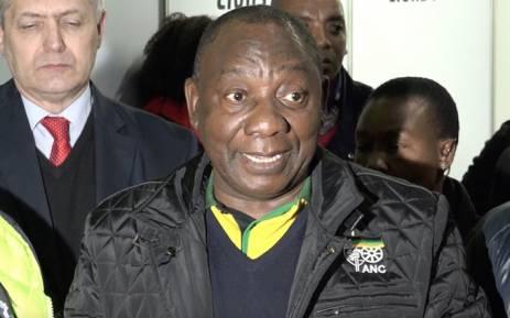 FILE: ANC deputy president Cyril Ramaphosa. Picture: Louise McAuliffe/EWN