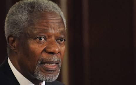 Former UN Secretary General Kofi Anan. Picture: AFP