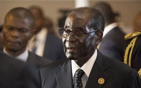 FILE: Zimbabwe's former President Robert Mugabe. Picture: AFP.