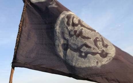FILE: A Boko Haram flag. Picture: AFP