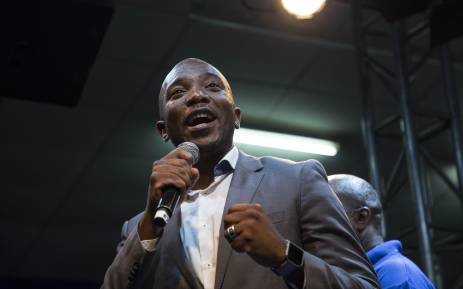Democratic Alliance leader Mmusi Maimane delivers the party's alternative State of the Nation Address in Alexandra, Johannesburg on 6 February 2018. Picture: Ihsaan Haffejee/EWN
