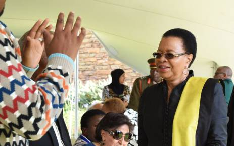 Nelson Mandela's widow Graca Machel. Picture: GCIS.