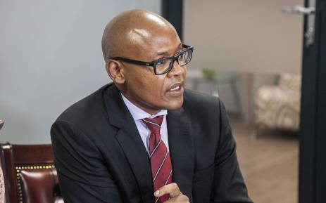President of the Progressive Professional Forum Jimmy Manyi answering questions on various issues faced by the forum. Picture: Kgothatso Mogale/EWN