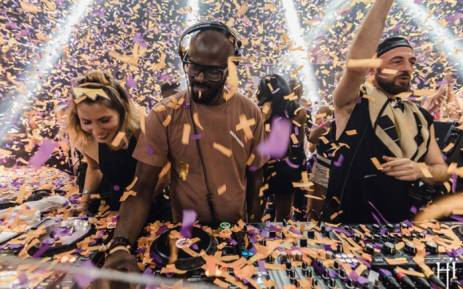 Black Coffee playing at Hi Ibiza. Picture: Facebook.com.