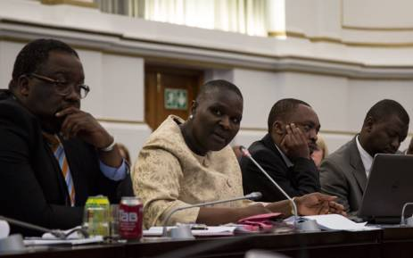 FILE. National Police Commissioner Riah Phiyega releases SA's 2015 Crime Stats. Picture: Anthony Molyneaux/EWN.