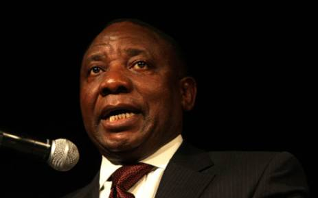 Businessman and ANC NEC chairman Cyril Ramaphosa. Picture: Sapa