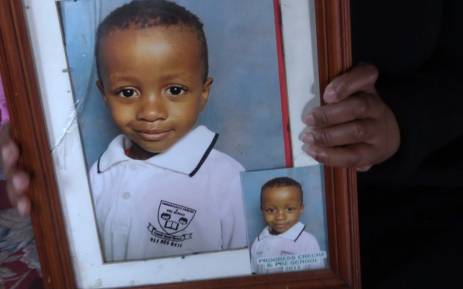 Five-year-old Tinyiko Mongwe was brutally murdered on Monday afternoon outside his home. Picture: Kgothatso Mogale/EWN