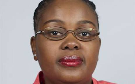 Communications Minister Mmamoloko Kubayi. Picture: Parliament.co.za.