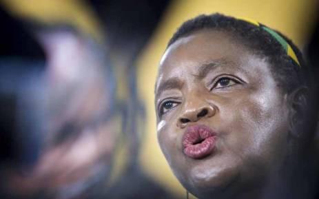FILE: Minister Bathabile Dlamini. Picture: Thomas Holder/EWN.