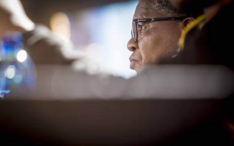 Minister of Police Fikile Mbalula addressed the media at the ANC NPC. Picture: Thomas Holder/EWN.