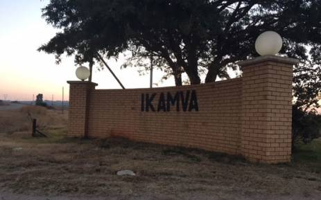 The entrance to Sibanye-Stillwater's Kloof Ikamva mine shaft, near Westonaria where four miners have died. Picture: Ihsaan Haffejee/EWN