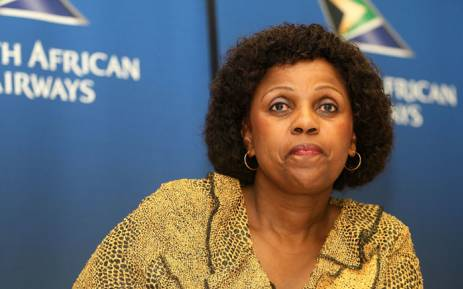 FILE: Former SAA chairperson Dudu Myeni in February 2015. Picture: Gallo Images/Veli Nhlapo.