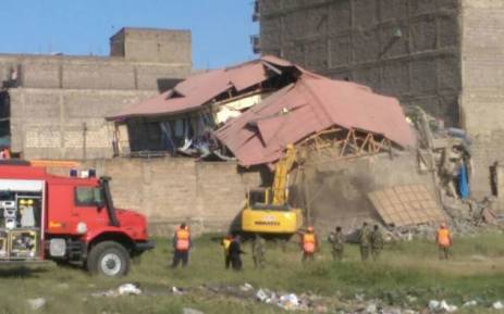 Two dead after Kenya building collapse