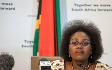 Minister of Communications Mmamoloko Kubayi-Ngubane. Picture: GCIS