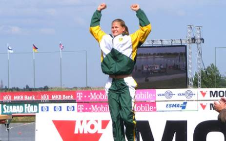 Kayaker Brigitte Hartley is the first South African woman to win a medal at the 2012Olympics. Picture: www.bridgittehartley.com