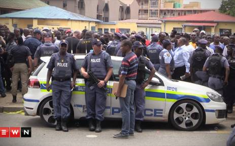 One resident says police come into their neighbourhoods and target them time and time again and they want justice. Picture: Kgothatso Mogale/EWN.