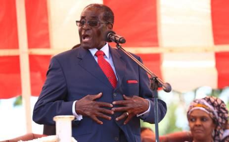 FILE. Zimbabwean President Robert Mugabe. Picture: EPA/Aaron Ufumeli.