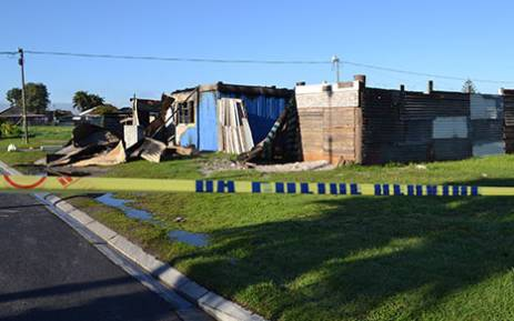 Thomas Lewis, a suspected drug dealer, was gunned at his home on 6th Avenue after a group of masked men allegedly surrounded his house and set it alight. Picture: Rahima Essop/EWN