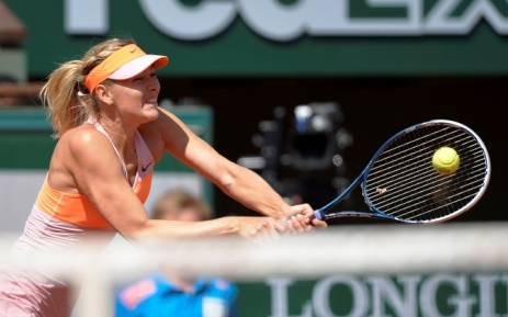 FILE: Former world number one tennis player Maria Sharapova. Picture: AFP.