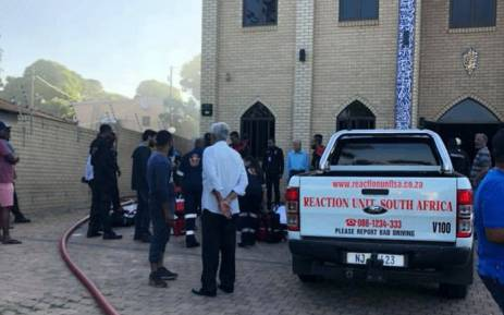 A mosque in Verulam, KwaZulu-Natal, has been attacked by a group of men on 10 May 2018. Picture: Reaction Unit South Africa Facebook page.
