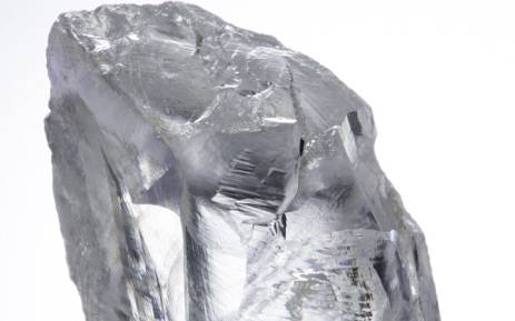 An exceptional 232ct white diamond was recovered at the Petra Diamonds Ltd. Picture: www.petradiamonds.com