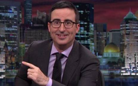 John Oliver Attacks Mike Pence Over Harmless Bunny Book