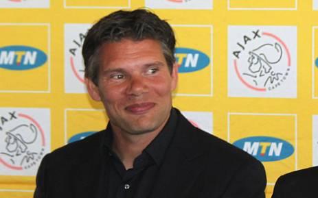 Ajax Cape Town coach Maarten Stekelenburg. Picture: Alicia Pillay/EWN