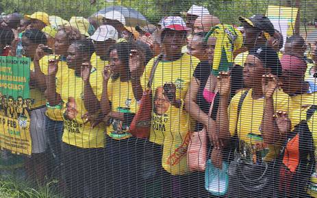 Thousands of ANC supporters decended on the Pretoria CBD for the ruling party's unity, non racialism and democracy march. Picture: Christa Eybers/EWN.