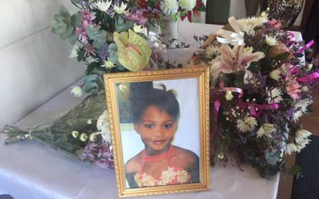 10-year-old Shamonique Claasen was laid to rest in Paarl on Saturday 12 March 2016. Picture: Monique Mortlock/EWN.