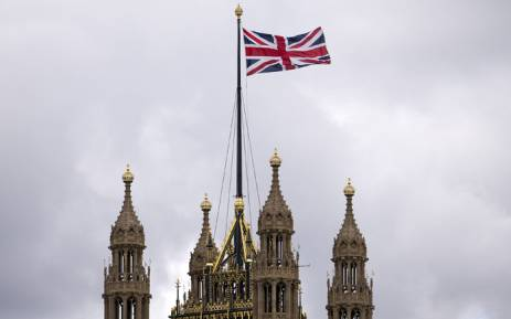 The Union flag flying above the Houses of Parliament in central London on 26 September, 2014. Picture: AFP.