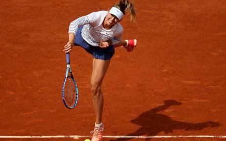 Former world number one Maria Sharapova. Picture: Twitter/@tiebreaktens.