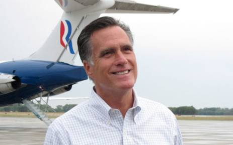 US presidential candidate Mitt Romney. Picture: AFP.