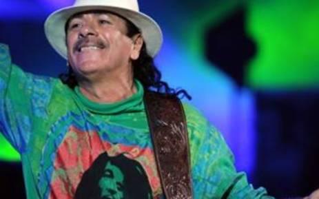 Carlos Santana. Picture: AFP/Martin Bernetti